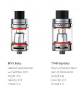 SMOK TFV8 Big Baby clearomizér - 5ml