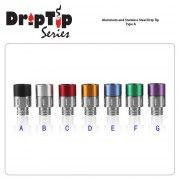510 Aluminum and Stainless Steel Drip Tip Type B