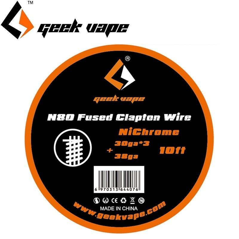 Geekvape N80 FUSED CLAPTON drát (30GAx3 + 38GA), 3m