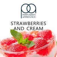 JAHODOVÝ KRÉM / Strawberries and Cream - aroma TPA 15ml