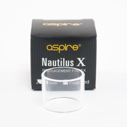 Náhradní skleněné tělo Aspire NAUTILUS X - čiré