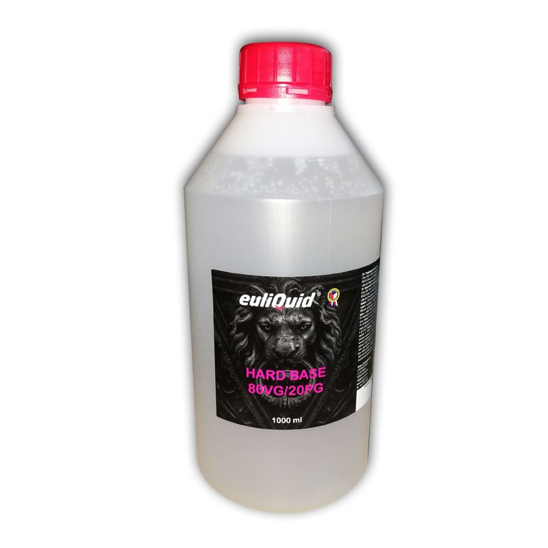 Báze EULIQUID Hard 80VG/20PG - 1000ml Euliquid s.r.o.