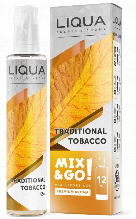 TRADIČNÍ TABÁK / Traditional Tobacco - LIQUA Mix&Go 12ml Ritchy Group