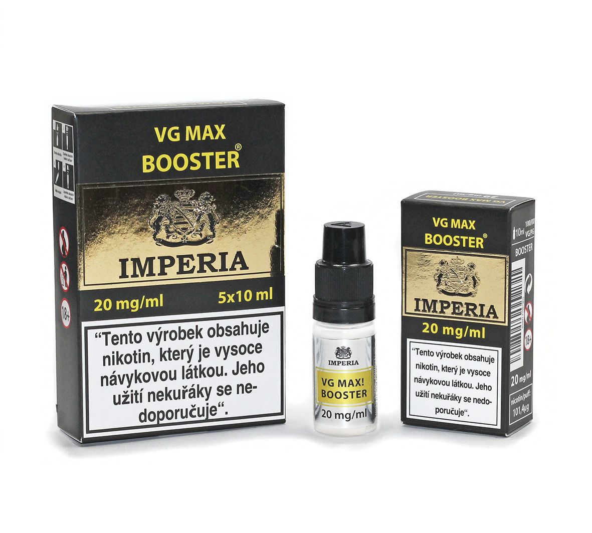 IMPERIA VG max Booster 20mg - 5x10ml (VG100%)