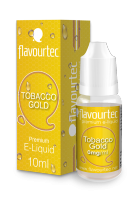 TOBACCO GOLD - eliquid FLAVOURTEC 10ml exp.:1/19