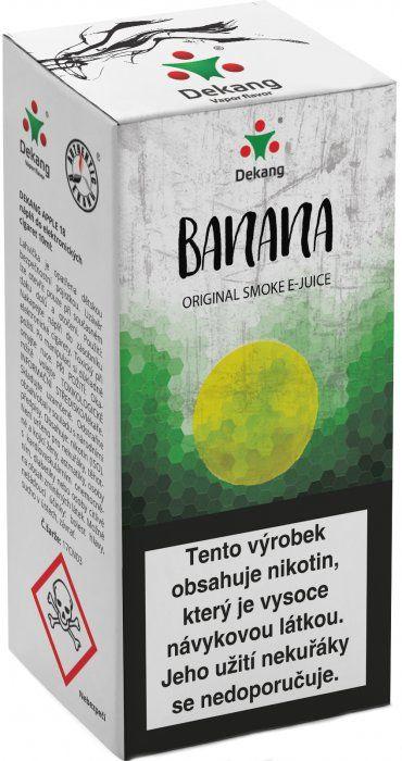 BANÁN - Banana - DEKANG Classic 10 ml
