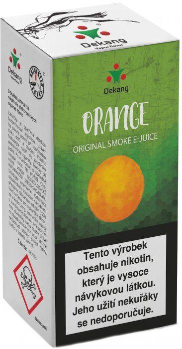 POMERANČ - Orange - Dekang Classic 10 ml