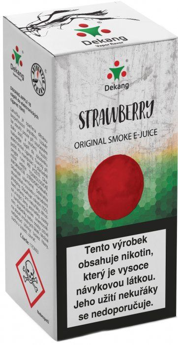 JAHODA - Strawberry - Dekang Classic 10 ml