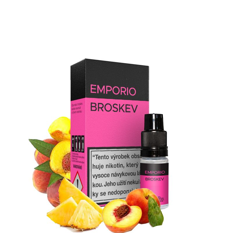 Broskev - e-liquid EMPORIO 10 ml Imperia