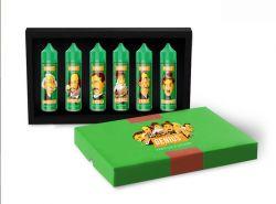 GENIUS dárkové balení 6x20ml  - aroma Pro Vape Genius shake & vape