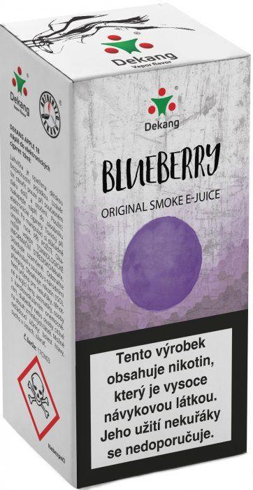 BORŮVKA - Blueberry - Dekang Classic 10 ml