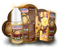 NUTTY BUDDY COOKIE - e-liquid American Stars 10ml exp.9/19
