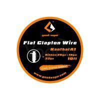 GeekVape FLAT CLAPTON odporový drát Kanthal A1 Ribbon(26GAx18GA)+32GA, 3m
