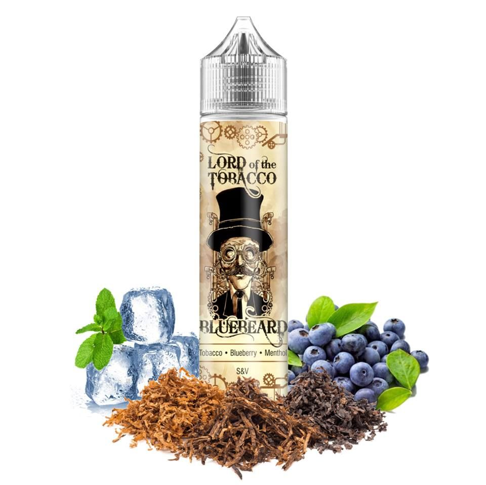 BLUEBEARD /tabák, borůvky, mentol/ - Lord of the Tobacco shake&vape 12ml Dream Flavor
