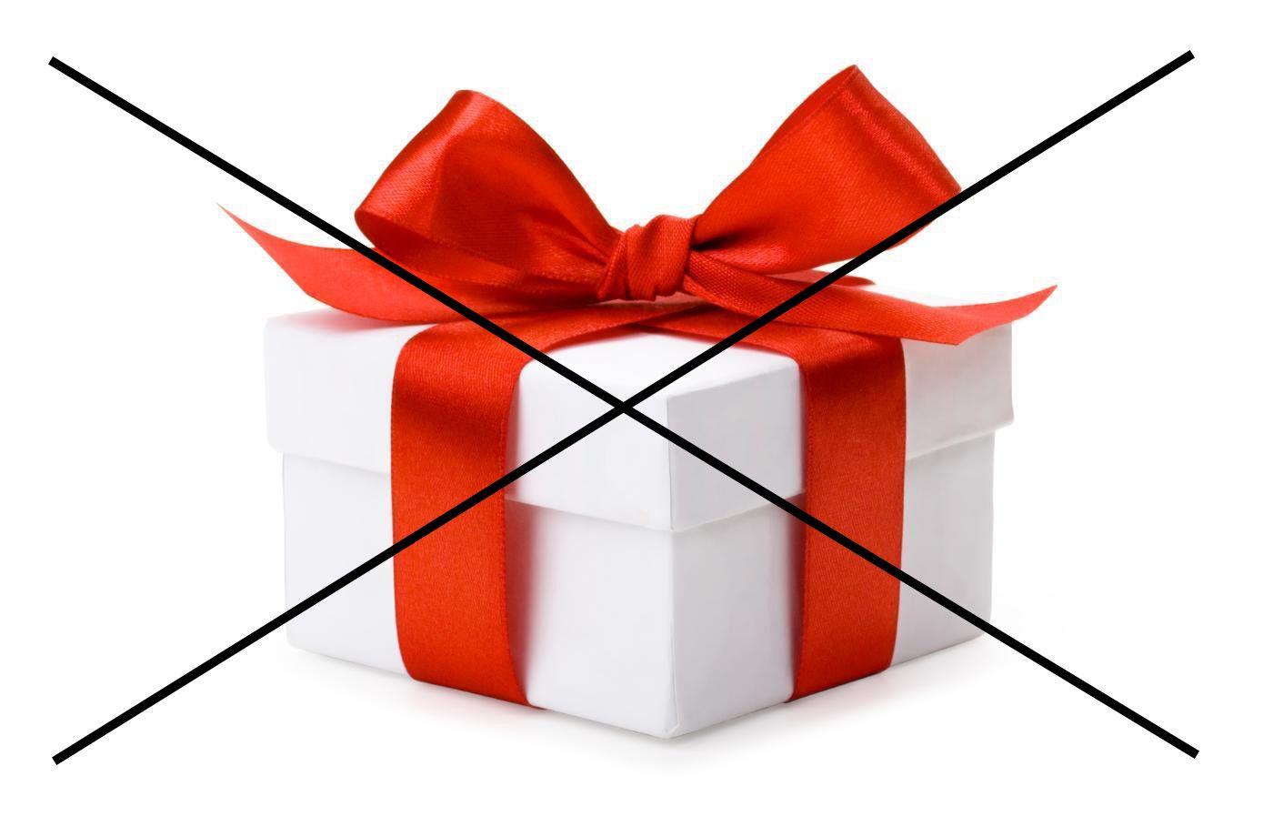 Nemám zájem o dárek