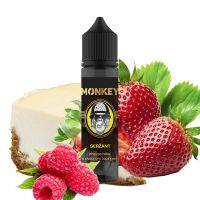 SERŽANT - chesecake s jahodovo-malinovým topingem - Monkey shake&vape 12ml