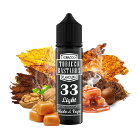 Tobacco Bastards No.33 LIGHT TOBACCO - shake&vape Flavormonks 12 ml - Doprodej