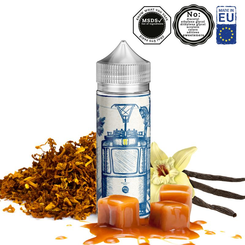 TRAM 11 / tabák, karamel, vanilka - shake&vape AEON 24ml