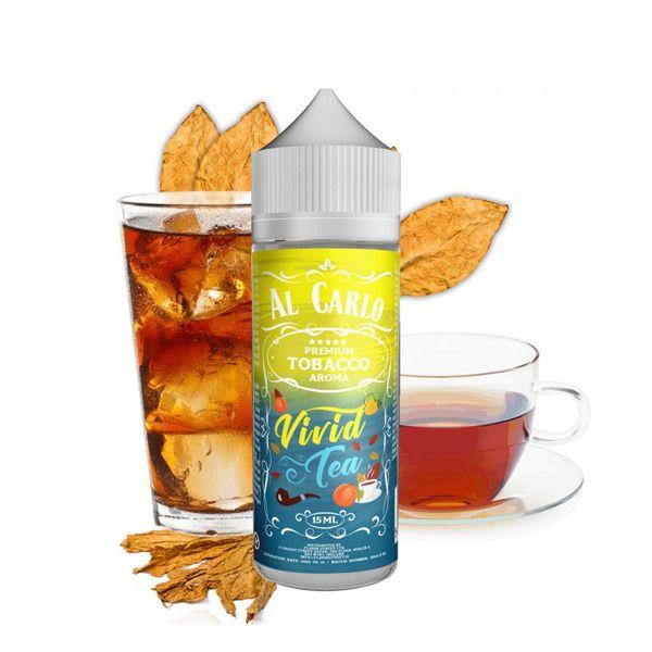 VIVID TEA / Ovocný čaj & tabák - shake&vape AL CARLO 15 ml