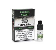 Velvet Base Imperia 6 mg - 5x10ml (20PG/80VG) exp. 4/21