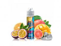 PASSION THRILL - pomeranč, mango, marakuja, kvajáva - shake&vape Rocket Empire 20 ml