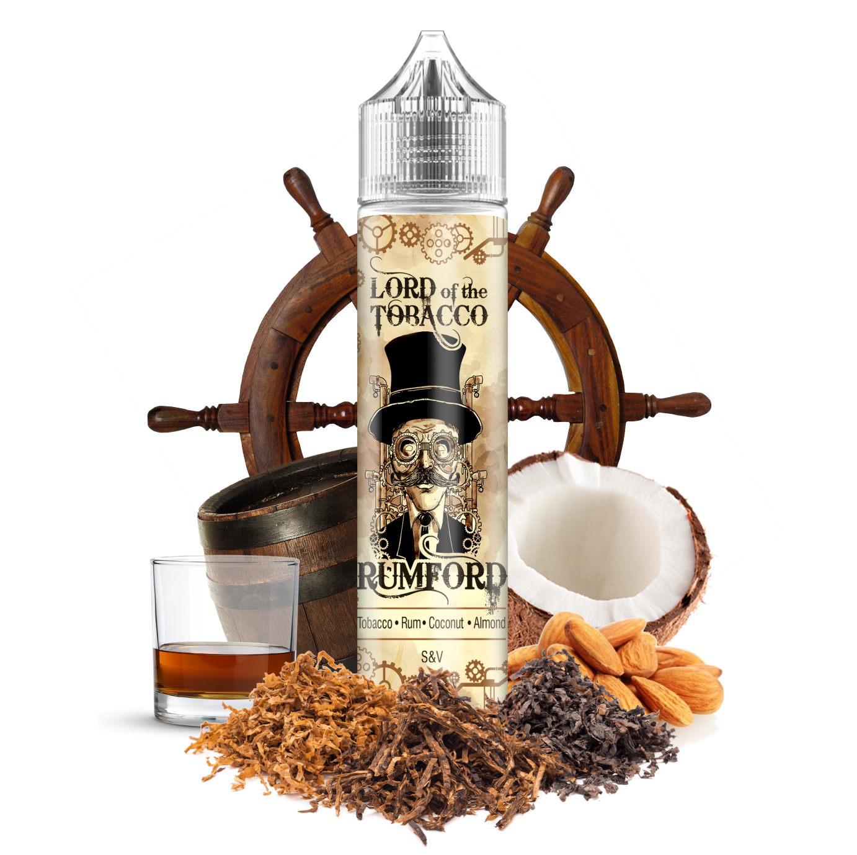 RUMFORD / tabák, rum, mandle, kokos - Lord of the Tobacco shake&vape 12ml Dream Flavor