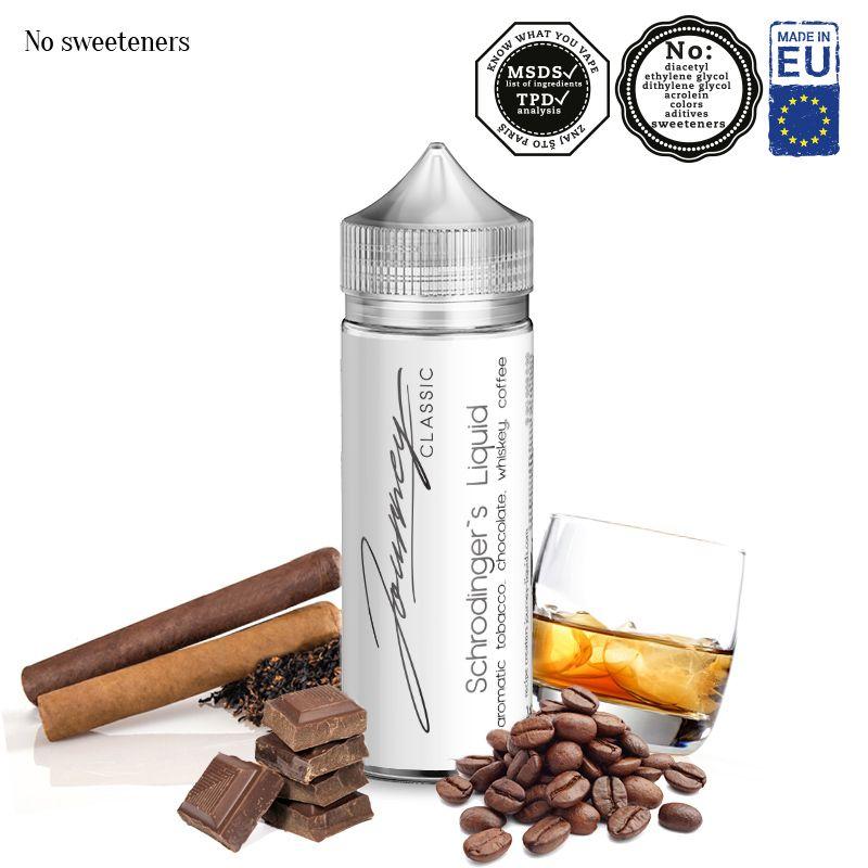SCHRODINGER´S LIQUID / tabák, káva, čokoláda, whiskey - shake&vape AEON 24ml