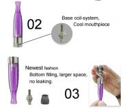 Clearomizer GS H2 (EVOD BCC PLAST) - 1,5ml Green Sound