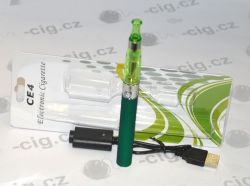 Elektronická cigareta EGO-CE4+, 1100 mAh, 1ks Green Sound