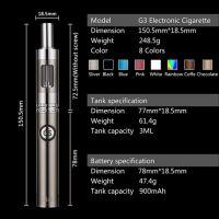 G3 - elektronická cigareta 900 mAh 3,5ml Green Sound