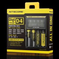 Nitecore D4 nabíječka s displejem - 4 sloty