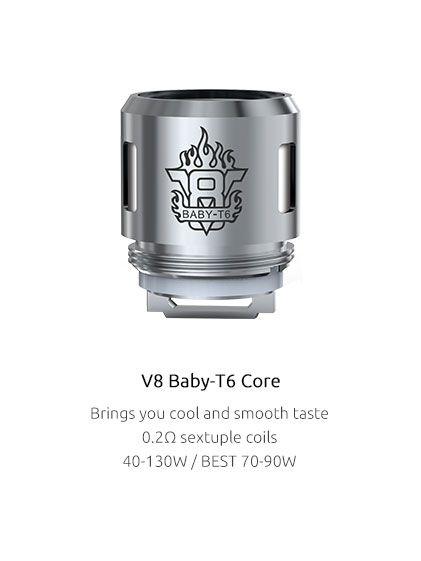 Žhavící hlavaT6 pro TFV8 Baby - 0.2ohm SMOK