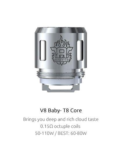Žhavící hlava T8 pro TFV8 Baby - 0.15ohm SMOK