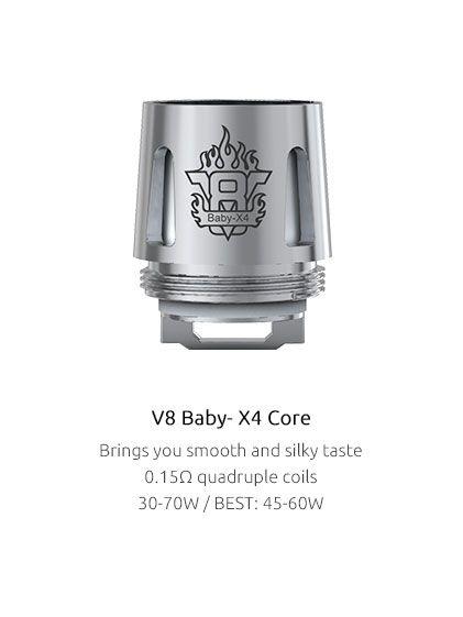 Žhavící hlava X4 CORE pro TFV8 Baby 0,15 ohm SMOK