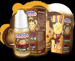 NUTTY BUDDY COOKIE - e-liquid American Stars 10ml