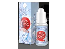 ICED STRAWBERRY - e-liquid FLAVOURTEC 10ml