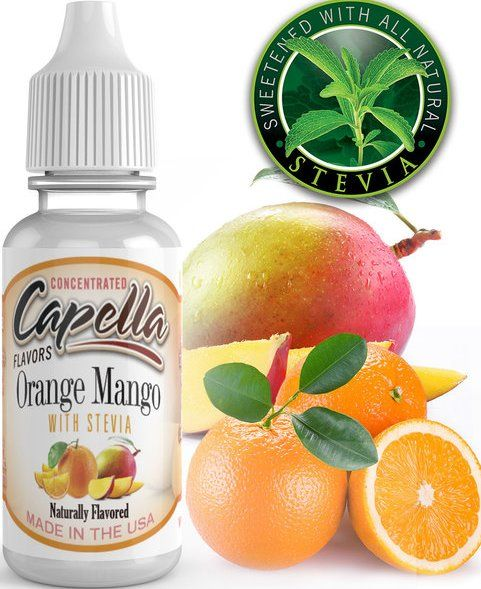POMERANČ A MANGO SE STÉVIÍ / Orange Mango with Stevia - Aroma Capella