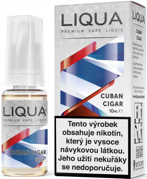 KUBÁNSKÝ DOUTNÍK / Cuban Cigar - LIQUA Elements 10 ml