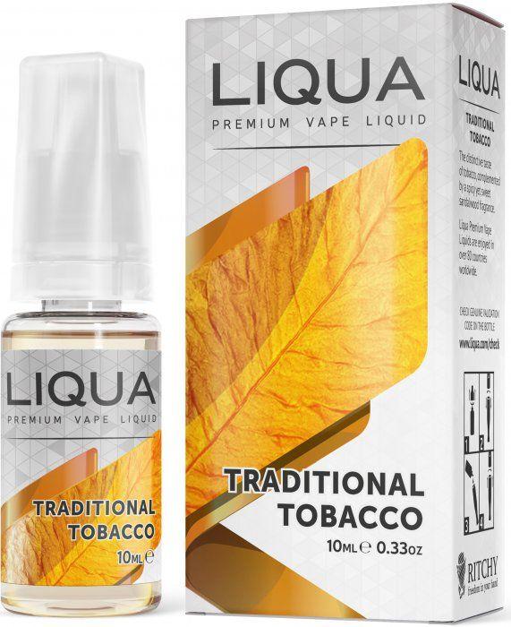 TRADIČNÍ TABÁK / Traditional Tobacco - LIQUA Elements 10 ml
