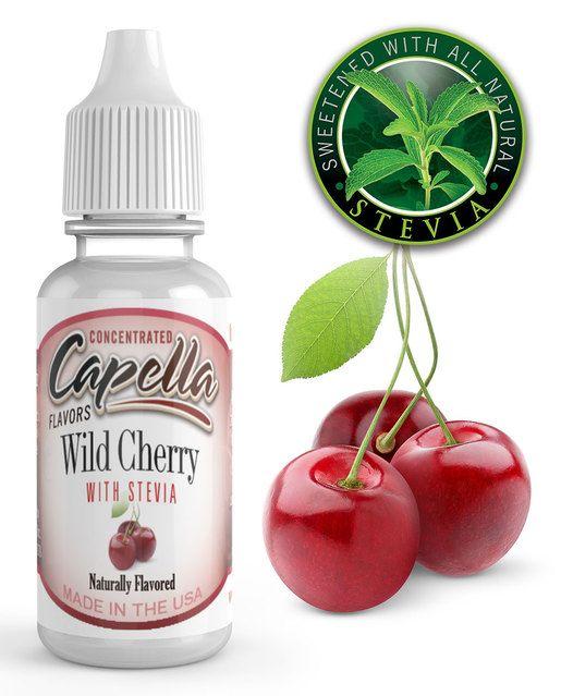 VIŠNĚ SE STÉVIÍ / Cherry Wild with Stevia - Aroma Capella