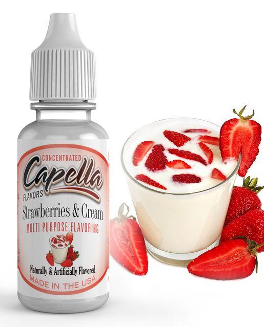 JAHODY SE SMETANOU / Strawberries & Cream - Aroma Capella