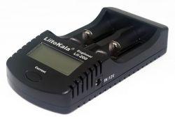LiitoKala Lii-200 nabiječka s displejem, 2 sloty